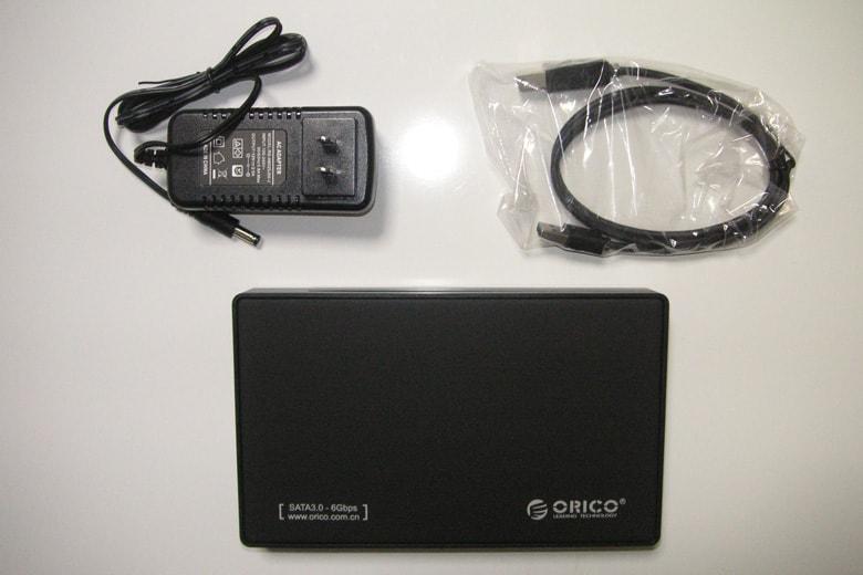 ORICO 3.5インチ hddケースの画像