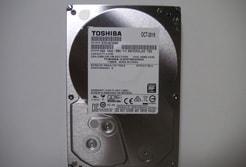 東芝のハードディスク、アイキャッチ画像