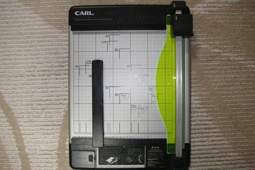 CARL(カール)事務器のディスクカッターの画像