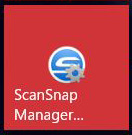 ScanSnapManagerを開く