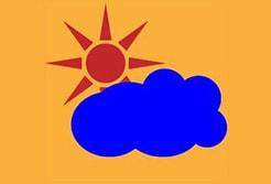 イラレで曇りのち晴れのアイコンを作る記事のアイキャッチ画像