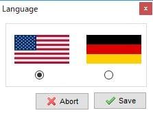 XAMPP installing Language