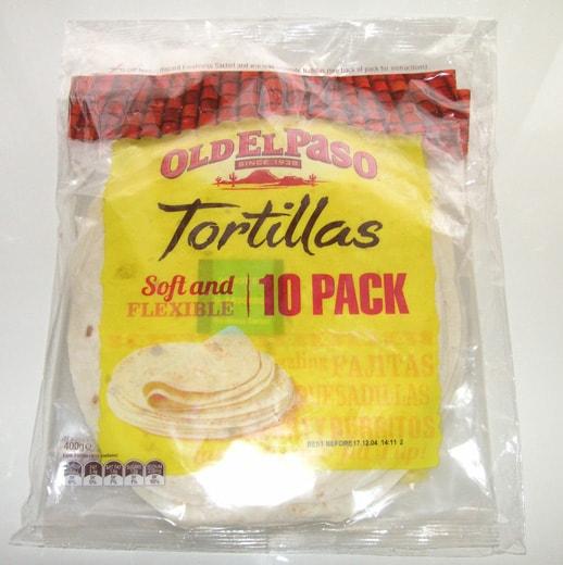 tortillas old elpaso コストコで買ったトルティーヤ