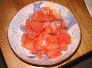 tomato トマトをカットしたもの