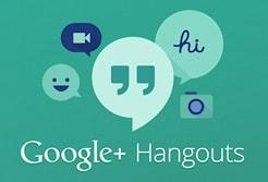 google hangout の記事のアイキャッチ
