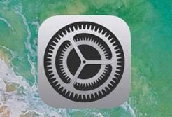 iphonexの設定