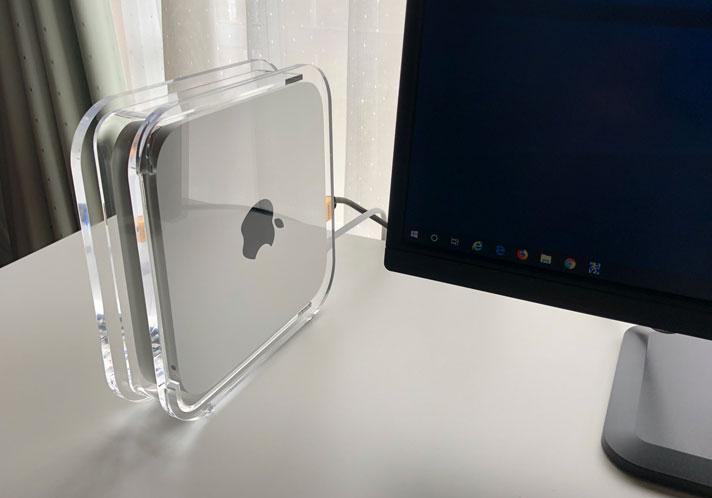 Mac miniの縦置きスタンド