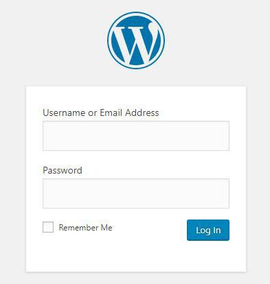 WordPress管理者ページのログイン
