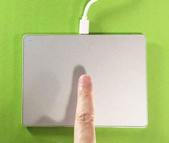 1本指のジェスチャー