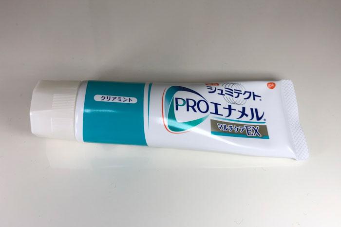 シュミテクトPROエナメル マルチケアEX 【レビュー】【酸蝕歯・知覚過敏の予防】
