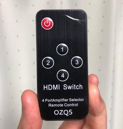 Ferrisa HDMI切替器のリモコン