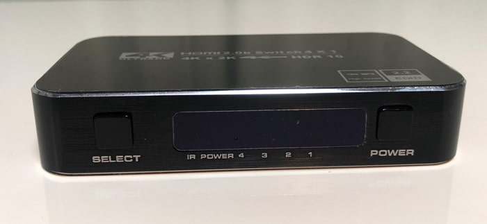Ferrisa HDMI切替器 セレクトとパワー