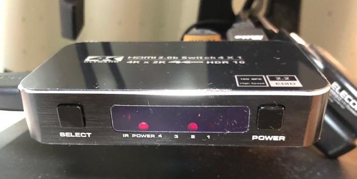 Ferrisa HDMI切替器 切替方法