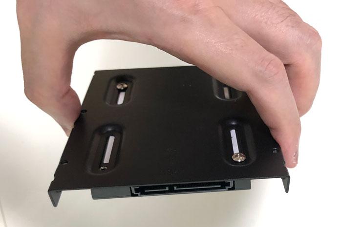3.5インチサイズ変換ブラケット